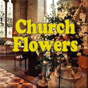 church flowers,
