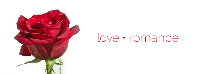 What does the red rose symbolize